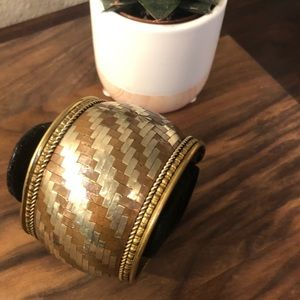 Jewelry - One of a kind Indian brass cuff